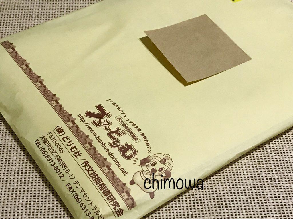 クロネコDM便で届いた『ブンブンどりむ』無料体験キット開封前の写真